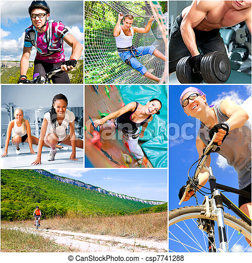 Concepto de estilo de vida deportivo - csp7741288
