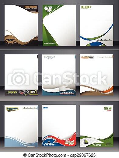 Identidad empresarial - csp29067625