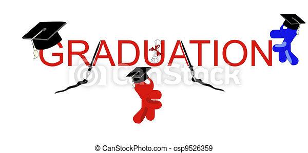 Graduación con estilo - csp9526359