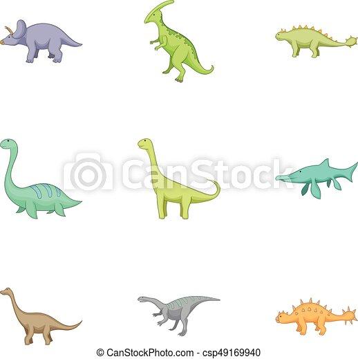 Dinosaurios Herbivoros Estilo De Dibujos Animados Dinosaurios Herbivoros Listos Un Set De Dibujos Animados De 9 Canstock ¿quieres seguir conociendo ejemplos de dinosaurios herbívoros? estilo de dibujos animados dinosaurios