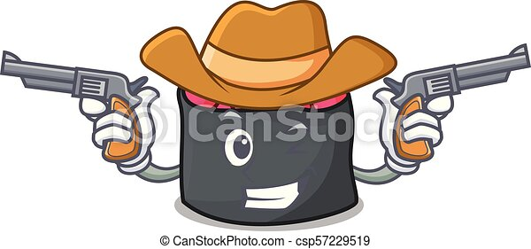 estilo, ikura, personagem, caricatura, boiadeiro - csp57229519