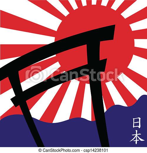 Estilo japonés - csp14238101