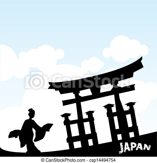 Estilo japonés - csp14494754