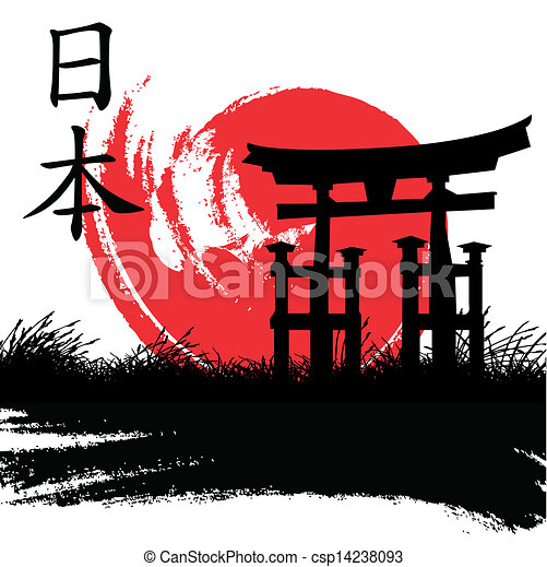 Estilo japonés - csp14238093