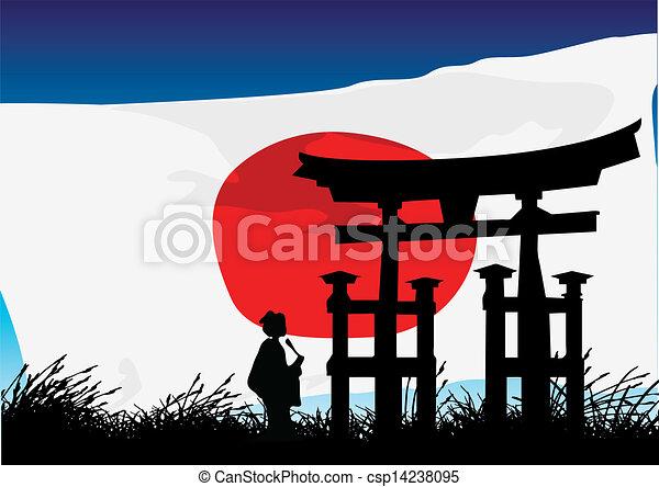 Estilo japonés - csp14238095