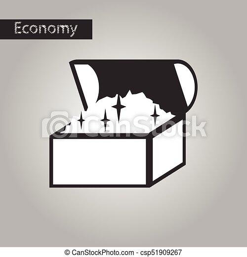 Famoso Muebles De Pecho Negroblanco Patrón - Muebles Para Ideas de ...