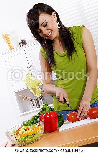 estilo vida saudável - csp3618476
