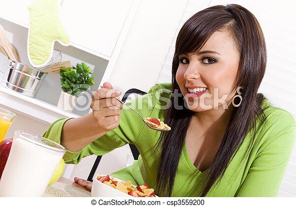 estilo vida saudável - csp3559200