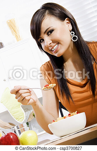 estilo vida saudável - csp3700827