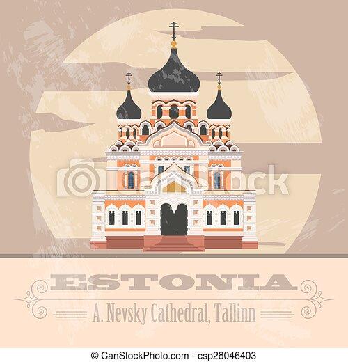Estonia infographics - csp28046403