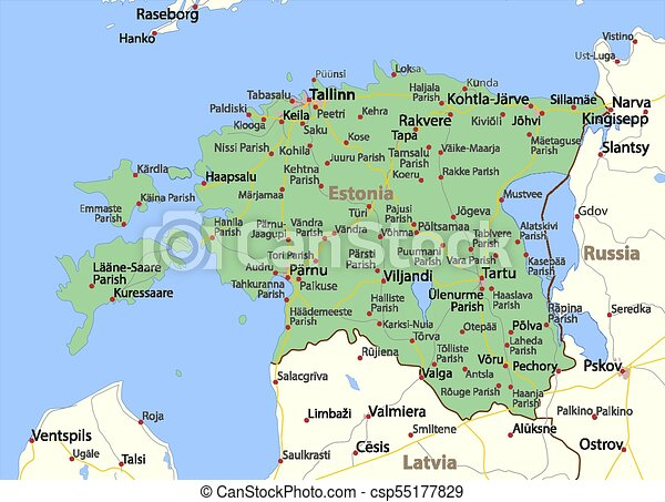 Estonia-World-Countries-VectorMap-A