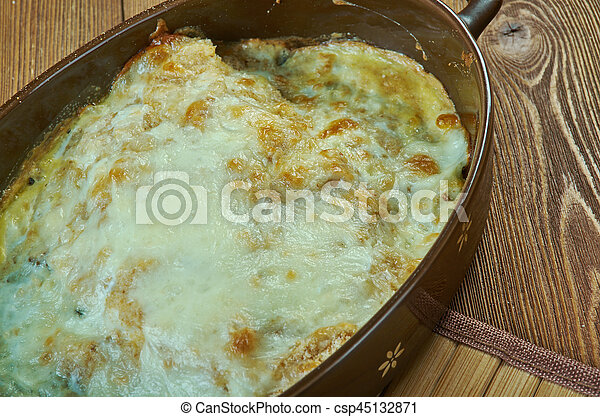 Estonian fish casserole - csp45132871