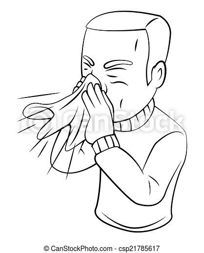Estornudos - csp21785617