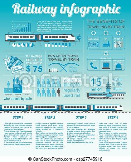 estrada ferro, infographic - csp27745916