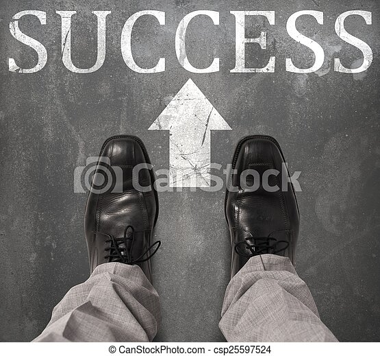 estrada, sucesso - csp25597524