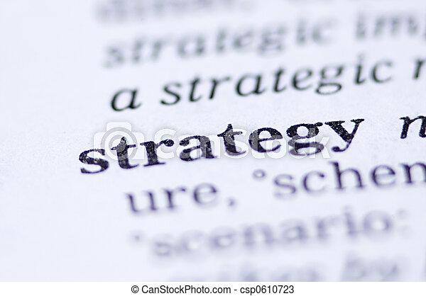 estratégia - csp0610723