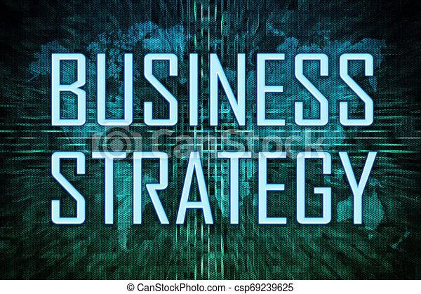 Estrategia de negocios - csp69239625