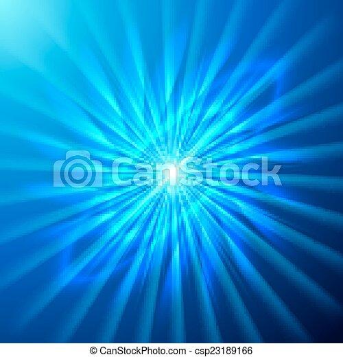 Estrella espacial brillante - csp23189166