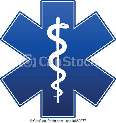 Estrella de emergencia - csp10662977