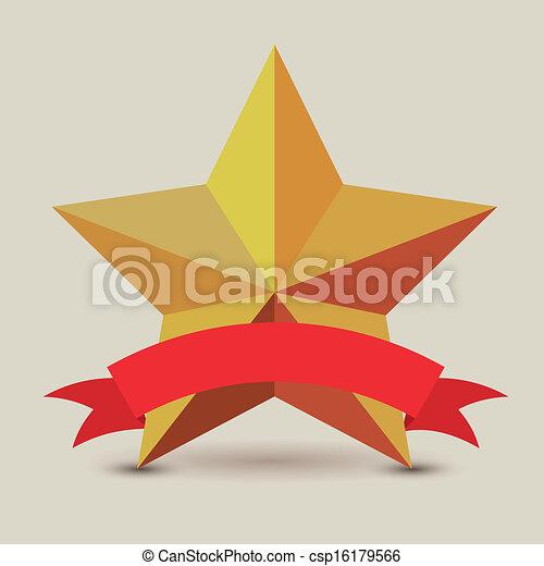 Etiqueta estrella - csp16179566