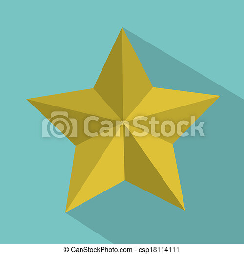 Etiqueta estrella - csp18114111