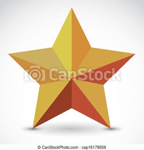 Etiqueta estrella - csp16179559