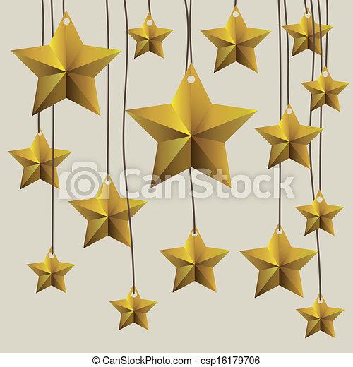 Una etiqueta estelar - csp16179706