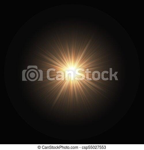 Explosión espacial de una estrella - csp55027553