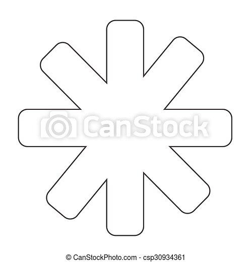 icono estrella - csp30934361