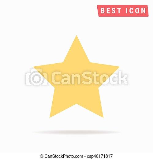 icono estrella - csp40171817