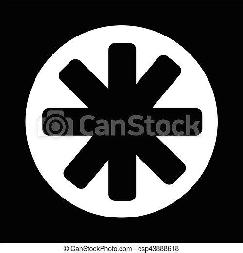 icono estrella - csp43888618