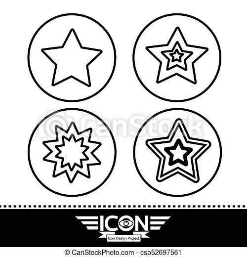 icono estrella - csp52697561