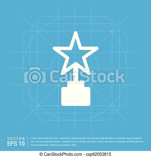 icono estrella - csp62053815