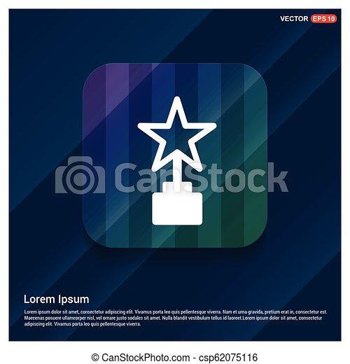 icono estrella - csp62075116