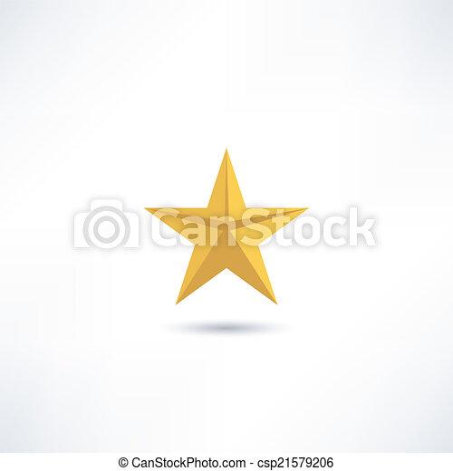 icono estrella - csp21579206