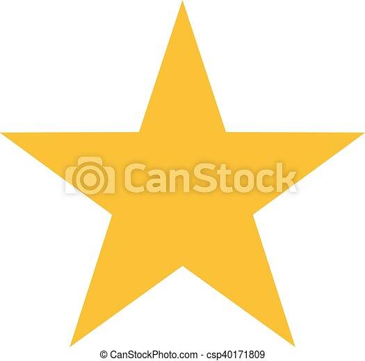 icono estrella - csp40171809