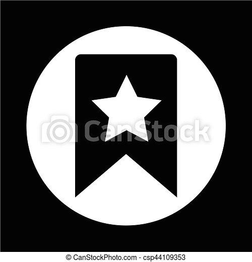 icono estrella - csp44109353