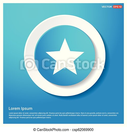 icono estrella - csp62069900
