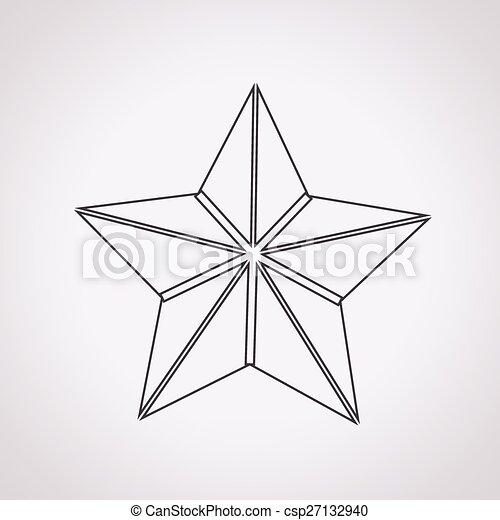 icono estrella - csp27132940