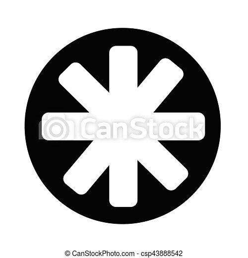 icono estrella - csp43888542
