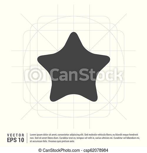 icono estrella - csp62078984