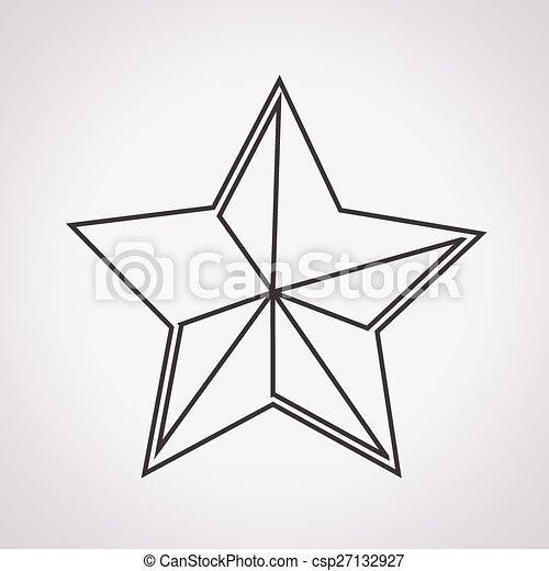 icono estrella - csp27132927