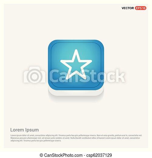 icono estrella - csp62037129