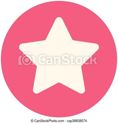 icono estrella - csp39838074