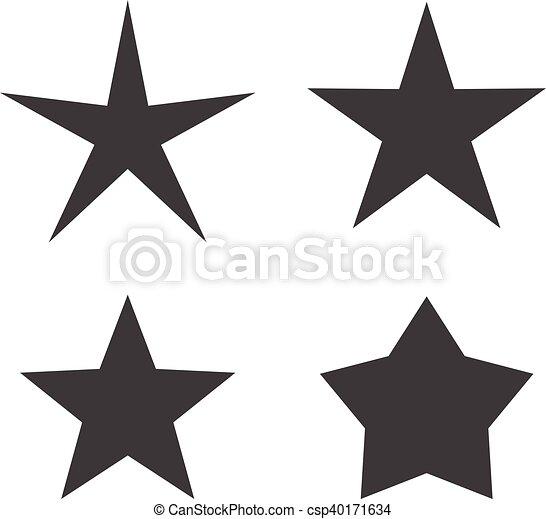 icono estrella - csp40171634