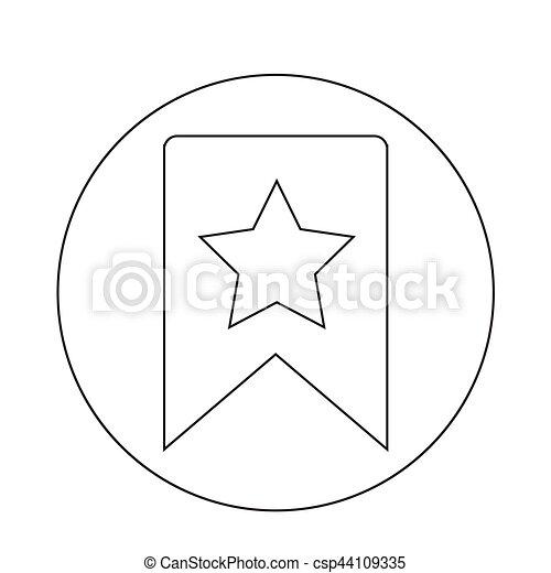 icono estrella - csp44109335