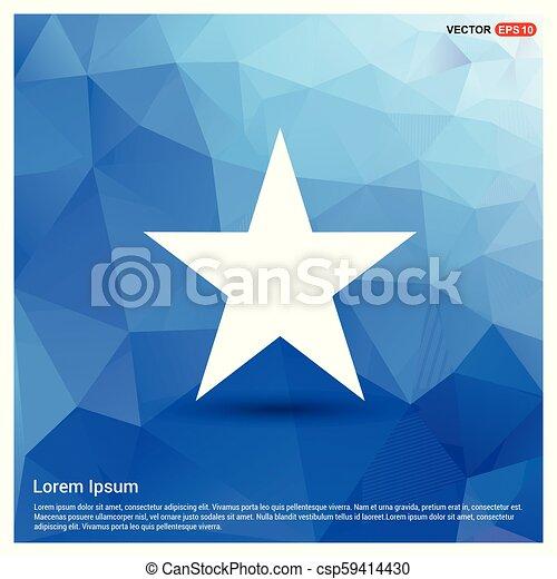 icono estrella - csp59414430