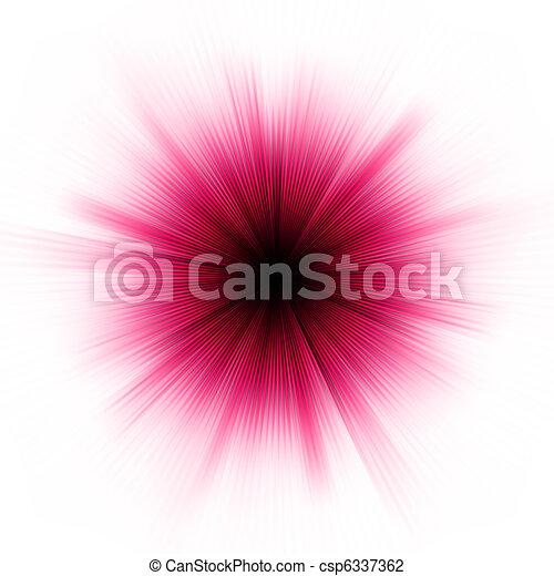 Una estrella púrpura aislada aislada en el suelo. EPS 8 - csp6337362