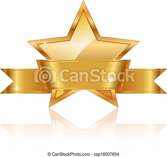 Premio a la estrella de oro - csp16507654
