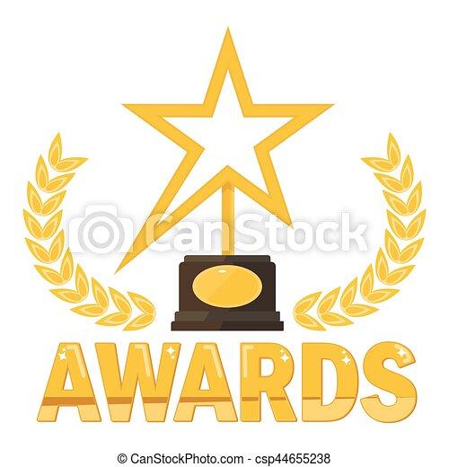 Premio a la estrella dorada - csp44655238